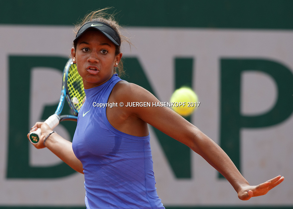 WHITNEY OSUIGWE (USA), Junior Girls<br /> <br /> Tennis - French Open 2017 - Grand Slam / ATP / WTA / ITF -  Roland Garros - Paris -  - France  - 4 June 2017.