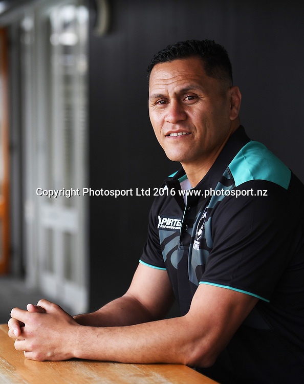 David Kidwell is announced as head coach of the New Zealand Kiwis Rugby League team. The Maritime Room, Auckland, New Zealand. Friday 16 September 2016. © Copyright Photo: Andrew Cornaga / www.Photosport.nz