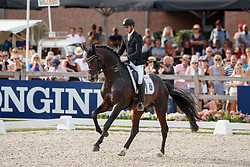 Helgstrand Andreas, DEN, Revolution<br /> World ChampionshipsYoung Dressage Horses<br /> Ermelo 2018<br /> © Hippo Foto - Dirk Caremans<br /> 04/08/2018