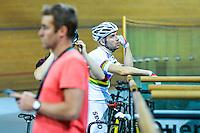 Francois Pervis - 29.06.2015 - Reprise de l'entrainement - Velodrome de Saint Quentin en Yvelines<br /> Photo : Anthony Dibon / Icon Sport