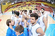 DESCRIZIONE : Skopje torneo  internazionale Italia - Montenegro<br /> GIOCATORE : team italia<br /> CATEGORIA : nazionale maschile senior A <br /> GARA : Skopje torneo  internazionale Italia - Montenegro <br /> DATA : 25/07/2014 <br /> AUTORE : Agenzia Ciamillo-Castoria/