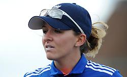 England's Kate Cross - Photo mandatory by-line: Harry Trump/JMP - Mobile: 07966 386802 - 21/07/15 - SPORT - CRICKET - Women's Ashes - Royal London ODI - England Women v Australia Women - The County Ground, Taunton, England.