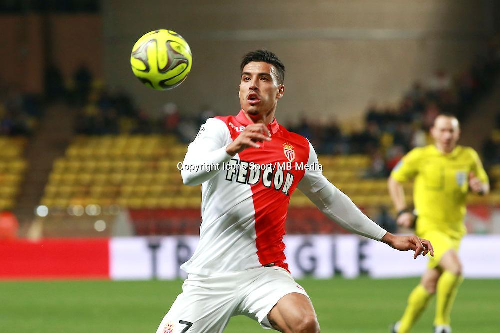 DIRAR Nabil - 13.03.2015 -   Monaco / Bastia -  29eme journee de Ligue 1 <br />Photo : Serge Haouzi / Icon Sport