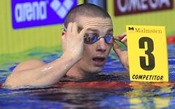 Emil Tahirovic, 3rd place (SLO) in 50m Men`s Breaststroke (SLO)  at 3rd day of LEN European Short Course Swimming Championships Rijeka 2008, on December 13, 2008,  in Kantrida pool, Rijeka, Croatia