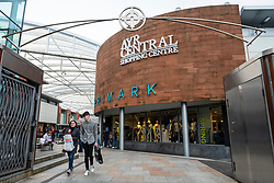 View of modern Ayr Central Shopping centre in Ayr, Ayrshire, Scotland, United Kingdom