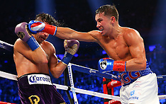 October 17, 2015: Gennady Golovkin vs David Lemieux