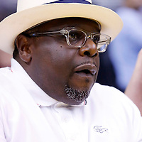 17 June 2014: Cedric The Entertainer is seen court side during the Minnesota Lynx  94-77 victory over the Los Angeles Sparks, at the Staples Center, Los Angeles, California, USA.