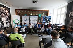 at press conference of Kayak and Canoe Federation of Slovenia, on March 14, 2017 in Hisa Sporta, Ljubljana, Slovenia. Photo by Matic Klansek Velej / Sportida