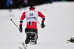 MARTHINSEN Mariann, NOR at the 2014 IPC Nordic Skiing World Cup Finals - Long Distance