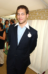 LORD FREDDIE WINDSOR at the 2005 Cartier International Polo between England & Australia held at Guards Polo Club, Smith's Lawn, Windsor Great Park, Berkshire on 24th July 2005.<br /><br />NON EXCLUSIVE - WORLD RIGHTS