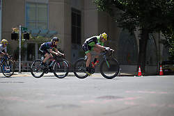 Alison Tetrick (USA) of Cylance Pro Cycling rides in the front during the fourth, 70 km road race stage of the Amgen Tour of California - a stage race in California, United States on May 22, 2016 in Sacramento, CA.