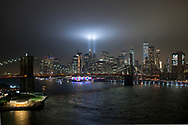 Tribute in Light - We Shall Never Forget. 2018