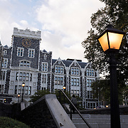 October 4, 2016 - New York, N.Y. : A view of Townsend Harris Hall, with Wingate Hall at the left, at the City College of New York, on Tuesday afternoon, October 4. <br /> CREDIT: Karsten Moran for The New York Times