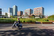 Euralille depuis le jardin des géants // Euralille district from jardin des géants