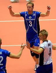 21-09-2013 VOLLEYBAL: EK MANNEN SLOVENIE - FINLAND: HERNING<br /> Mikko Esko<br /> ©2013-FotoHoogendoorn.nl<br />  / SPORTIDA
