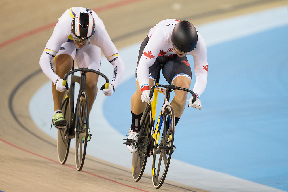 in the _ at the cycling  at the 2015 Pan American Games in Toronto, Canada, July 17,  2015.  AFP PHOTO/GEOFF ROBINS