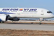 Israel, Ben-Gurion international Airport Sun D'Or International Airlines