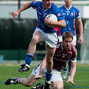 May 2, 2010 - Bronx, NY : New York's Jason Kelly (#10) comes away with the ball against Galway's Garry O'Donnell (#6). The New York Gaelic Athletic Association  hosted the Galway Tribesmen this past Sunday at Gaelic Field in Riverdale for the opening match of the 2010 Connacht Football Championship. The hosts gave their overseas visitors a ferocious 60 minutes of play before falling 2-13 to 0-12.