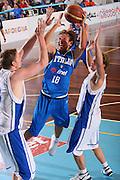 DESCRIZIONE : Cagliari Torneo Internazionale Sardegna a canestro Italia Estonia <br /> GIOCATORE : Giuseppe Poeta <br /> SQUADRA : Nazionale Italia Uomini Italy <br /> EVENTO : Raduno Collegiale Nazionale Maschile <br /> GARA : Italia Estonia Italy Estonia <br /> DATA : 13/08/2008 <br /> CATEGORIA : Tiro <br /> SPORT : Pallacanestro <br /> AUTORE : Agenzia Ciamillo-Castoria/S.Silvestri <br /> Galleria : Fip Nazionali 2008 <br /> Fotonotizia : Cagliari Torneo Internazionale Sardegna a canestro Italia Estonia <br /> Predefinita :
