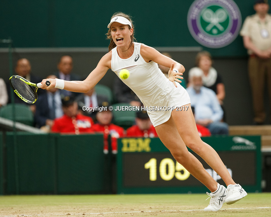 JOHANNA KONTA (GBR)<br /> <br /> Tennis - Wimbledon 2017 - Grand Slam ITF / ATP / WTA -  AELTC - London -  - Great Britain  - 11 July 2017.