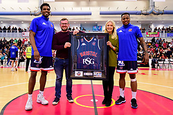 Sponsor at half time - Photo mandatory by-line: Ryan Hiscott/JMP - 13/04/2019 - BASKETBALL - SGS Wise Arena - Bristol, England - Bristol Flyers v Manchester Giants - British Basketball League Championship