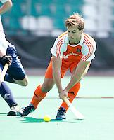 ROTTERDAM - HOCKEY -  Jeroen Hertzberger  tijdens de oefenwedstrijd tussen de mannen van Nederland en Engeland (2-1) . FOTO KOEN SUYK
