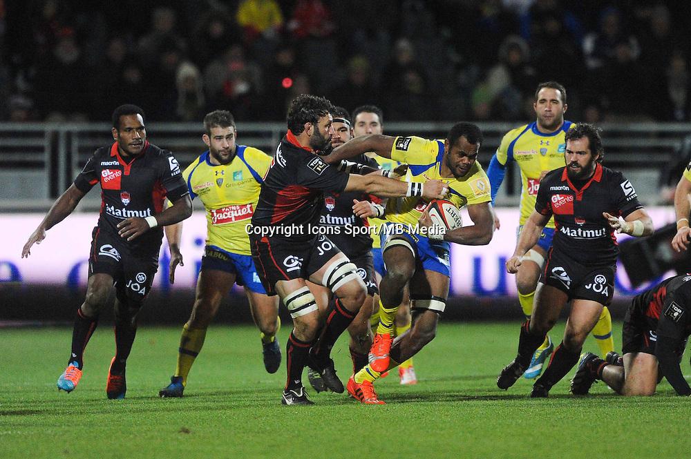 Peceli Yato - 28.12.2014 - Lyon Olympique / Clermont - 14eme journee de Top 14 <br />Photo : Jean Paul Thomas / Icon Sport