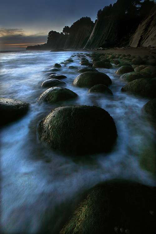 Bowling Ball beach on the mendocino coast.