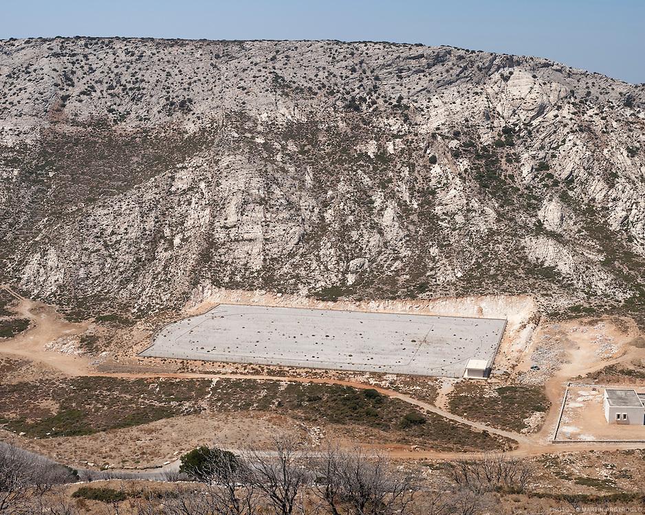 Naxos, village de Filoti. Grèce, 2010.