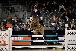Geerink Sander, NED, Bentley N<br /> Jumping Indoor Maastricht 2016<br /> © Hippo Foto - Dirk Caremans<br /> 12/11/2016