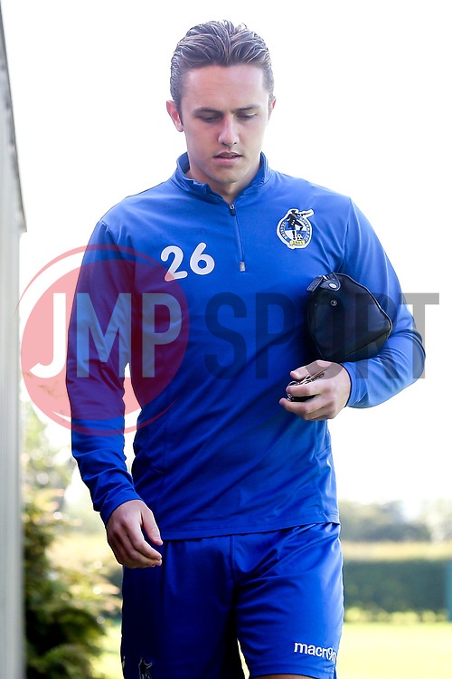 Sam Matthews of Bristol Rovers arrives for the first day of preseason training ahead of the 2019/20 Sky Bet League One Season - Mandatory by-line: Robbie Stephenson/JMP - 27/06/2019 - FOOTBALL - The Lawns - Bristol, England - Bristol Rovers Return for Preseason Training