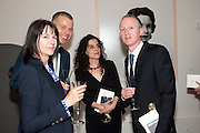GILLIAN WEARING; WOLFGANG TILLMANS; TANYA SEGHATCHLAN; MICHAEL LANDY, Royal Academy of Arts Annual dinner. Royal Academy. Piccadilly. London. 1 June <br /> <br />  , -DO NOT ARCHIVE-© Copyright Photograph by Dafydd Jones. 248 Clapham Rd. London SW9 0PZ. Tel 0207 820 0771. www.dafjones.com.