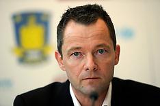 20101214 Brøndby IF præsenterer ny direktør Jan Lockhart