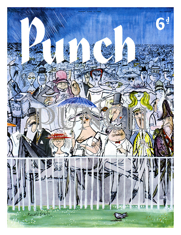 Punch cover 13 June 1958