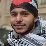 London,UK, 12th May 2018. Victory to the Intifada expose BBC's lies on the #GreatReturnMarch. BBC's coverage on Palestine has proven time and time again that it is the enemy of the Palestinian people and the mouthpiece of British imperialism. The March to Oxford Street in front of Marks & Spencer for supporting Israel and to the Saudi embassy protesting the role of the Saudi reactionary regime in the Palestinian struggle; seeking to liquidate the rights of the Palestinian people and the Palestinian liberation movement.