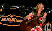 """NEW YORK - OCTOBER 24: Malvina Reynolds performs """"Little Boxes"""" at the 6th Annual High Times Stony Awards at B.B. King's on October 20, 2006 on Broadway in New York City."""