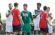 September 23, 2017: The Rogers State University Hillcats play against the Oklahoma Christian University Eagles on the campus of Oklahoma Christian University.