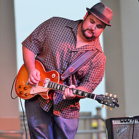 The True Blue Band Performs At Pensacola Beach, Florida. Sept 2015