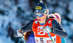 29.01.2017, Casino Arena, Seefeld, AUT, FIS Weltcup Nordische Kombination, Seefeld Triple, Langlauf, im Bild Samuel Costa (ITA) // Samuel Costa of Italy during Cross Country Gundersen Race of the FIS Nordic Combined World Cup Seefeld Triple at the Casino Arena in Seefeld, Austria on 2017/01/29. EXPA Pictures © 2017, PhotoCredit: EXPA/ JFK