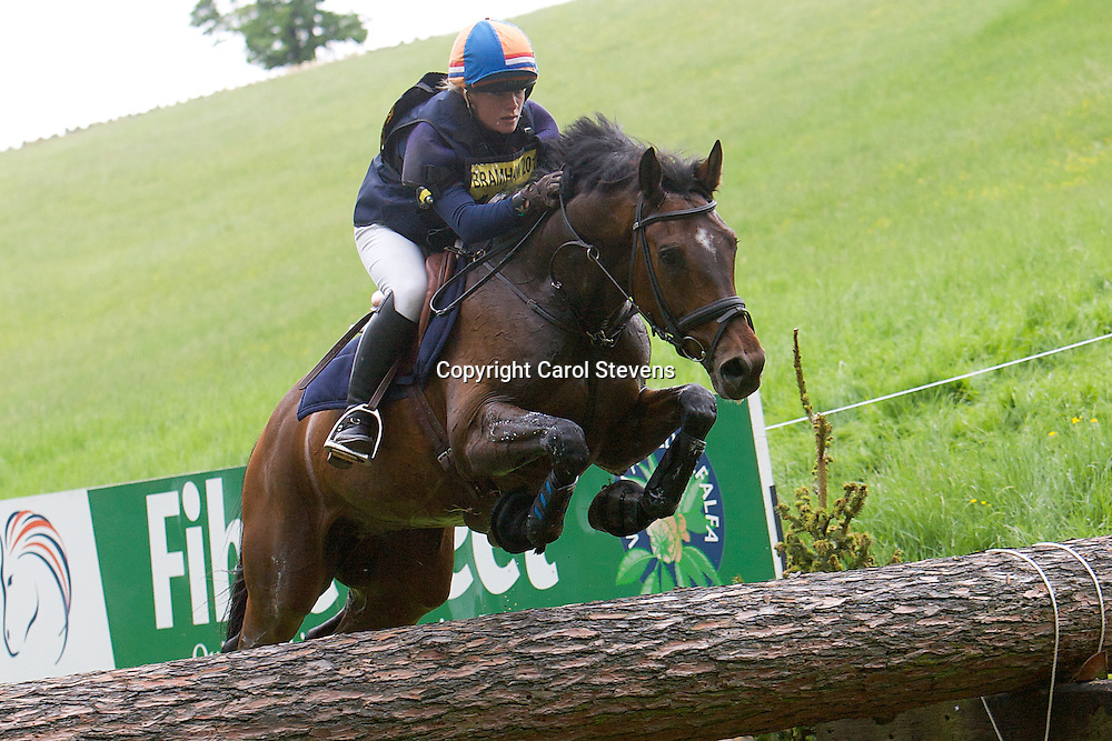 Equi-Trek Bramham International Horse Trials 2012  CIC3*<br /> Elaine Pen and Dostowjeski (NED)