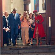 NLD/Groningen/20180427 - Koningsdag Groningen 2018, Aankomst Willem-Alexander, Amalia en Maxima