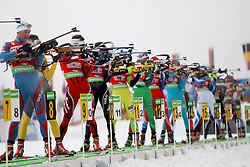 11.12.2011, Biathlonzentrum, Hochfilzen, AUT, E.ON IBU Weltcup, 2. Biathlon, Hochfilzen, Staffel Herren, im Bild Am Schiesstand Brattsveen Rune (Team NOR) // during Team Relay E.ON IBU World Cup 2th Biathlon, Hochfilzen, Austria on 2011/12/11. EXPA Pictures © 2011. EXPA Pictures © 2011, PhotoCredit: EXPA/ nph/ Straubmeier..***** ATTENTION - OUT OF GER, CRO *****