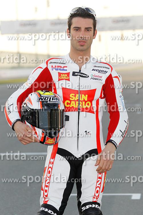 19.03.2010, Doha, Katar, QAT, MotoGP, Fahrerfotos im Bild Marco Melandri - San Carlo team, EXPA Pictures © 2010, PhotoCredit: EXPA/ InsideFoto/ Semedia / SPORTIDA PHOTO AGENCY