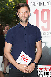 © Licensed to London News Pictures. 18/06/2015. London, UK. Jolyon Rubinstein arrives at the press night for 1984 at the Playhouse Theatre, Northumberland Avenue in London tonight. Photo credit : Vickie Flores/LNP