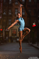 Dance As Art Streets of New York West Village Series with dancer Kevin Mimms