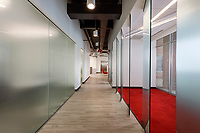 Architectural interior image of office building in Columbia MD by Jeffrey Sauers of CPI Productions