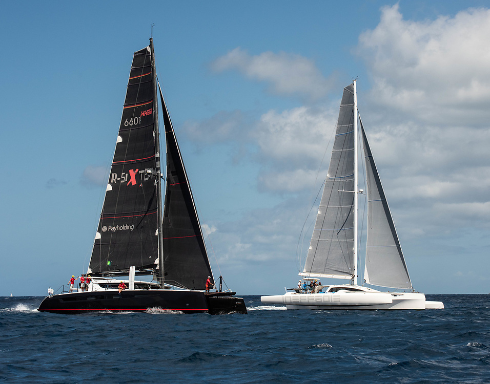 R-Six at Antigua Sailing Week