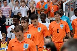 16-06-2006 VOETBAL: FIFA WORLD CUP: NEDERLAND - IVOORKUST: STUTTGART <br /> Oranje won in Stuttgart ook de tweede groepswedstrijd. Nederland versloeg Ivoorkust met 2-1 / Phillip Cocu<br /> ©2006-WWW.FOTOHOOGENDOORN.NL