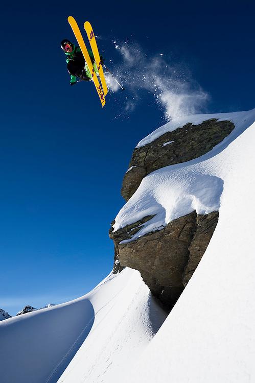 Dylan Hood, Chamonix, France