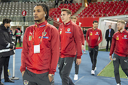 March 21, 2019 - Vienna, Austria - Valentino Lazaro of Austria during the UEFA European Qualifiers 2020 match between Austria and Poland at Ernst Happel Stadium in Vienna, Austria on March 21, 2019  (Credit Image: © Andrew Surma/NurPhoto via ZUMA Press)